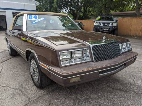 1983 Chrysler Le Baron for sale at GREAT DEALS ON WHEELS in Michigan City IN