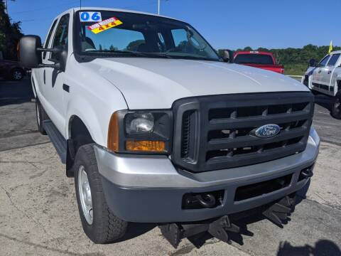 2006 Ford F-250 Super Duty for sale at GREAT DEALS ON WHEELS in Michigan City IN