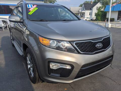 2013 Kia Sorento for sale at GREAT DEALS ON WHEELS in Michigan City IN