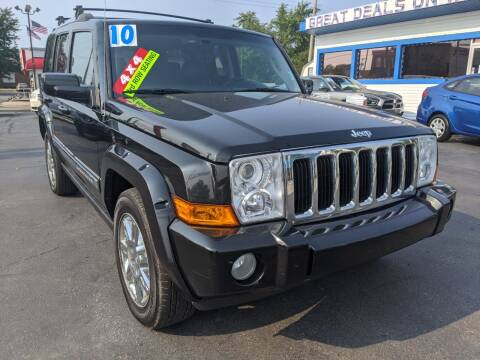 2010 Jeep Commander for sale at GREAT DEALS ON WHEELS in Michigan City IN