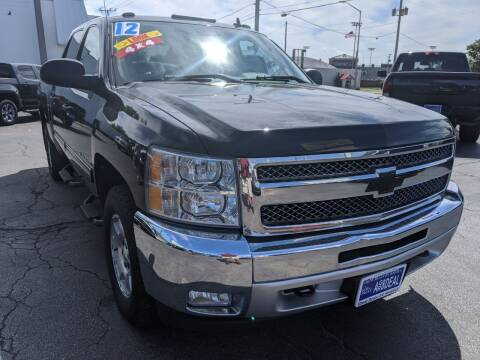 2012 Chevrolet Silverado 1500 for sale at GREAT DEALS ON WHEELS in Michigan City IN
