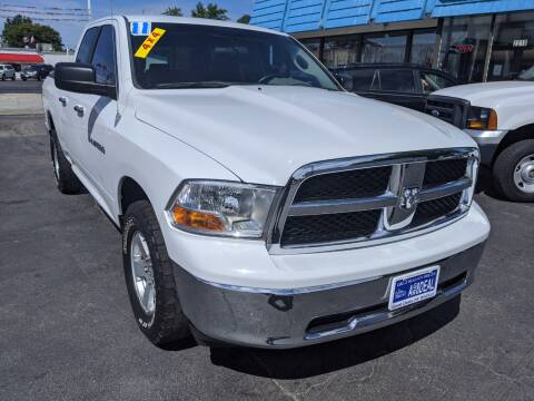 2011 RAM Ram Pickup 1500 for sale at GREAT DEALS ON WHEELS in Michigan City IN