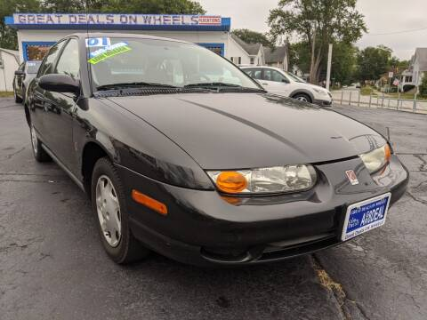 2001 Saturn S-Series for sale at GREAT DEALS ON WHEELS in Michigan City IN