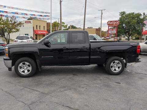 2014 Chevrolet Silverado 1500 for sale at GREAT DEALS ON WHEELS in Michigan City IN