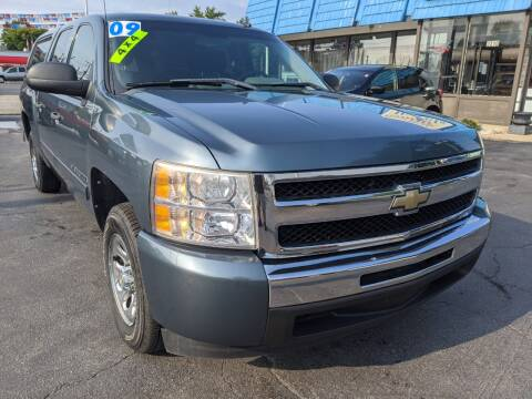 2009 Chevrolet Silverado 1500 for sale at GREAT DEALS ON WHEELS in Michigan City IN