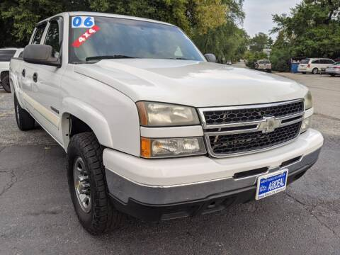 2006 Chevrolet Silverado 1500HD for sale at GREAT DEALS ON WHEELS in Michigan City IN