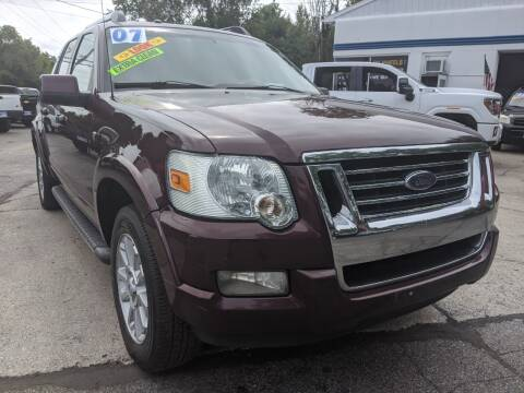 2007 Ford Explorer Sport Trac for sale at GREAT DEALS ON WHEELS in Michigan City IN