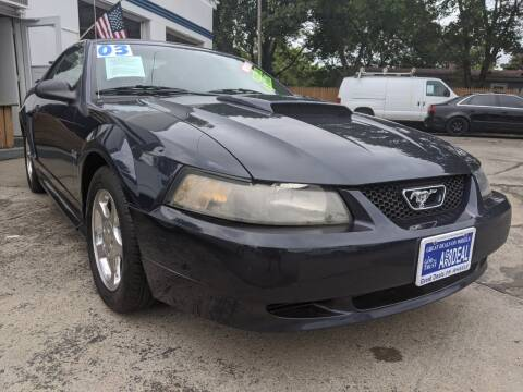 2003 Ford Mustang for sale at GREAT DEALS ON WHEELS in Michigan City IN