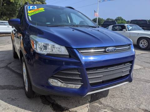 2016 Ford Escape for sale at GREAT DEALS ON WHEELS in Michigan City IN