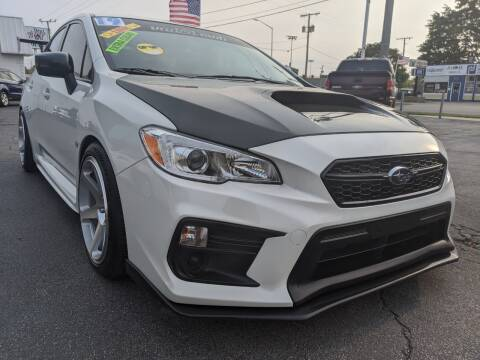 2019 Subaru WRX for sale at GREAT DEALS ON WHEELS in Michigan City IN