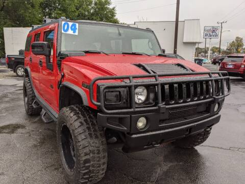 2004 HUMMER H2 for sale at GREAT DEALS ON WHEELS in Michigan City IN