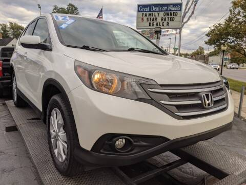 2012 Honda CR-V for sale at GREAT DEALS ON WHEELS in Michigan City IN