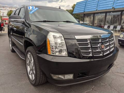 2012 Cadillac Escalade for sale at GREAT DEALS ON WHEELS in Michigan City IN