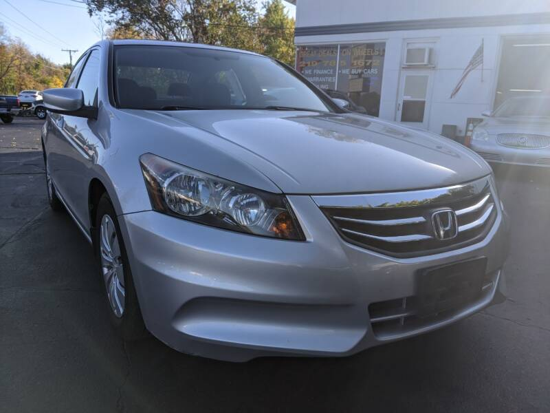 2012 Honda Accord for sale at GREAT DEALS ON WHEELS in Michigan City IN