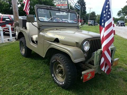 1956 Jeep Willys for sale in Michigan City, IN