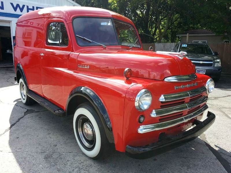 1947 dodge panel van vintage panel van in michigan city in great deals on wheels. Black Bedroom Furniture Sets. Home Design Ideas