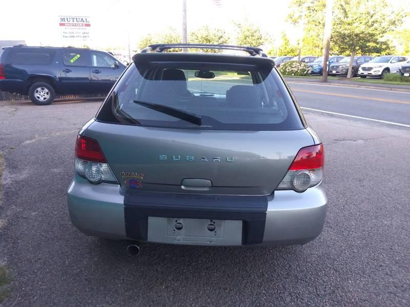 2005 Subaru Impreza Awd Outback Sport Special Edition 4dr Wagon In