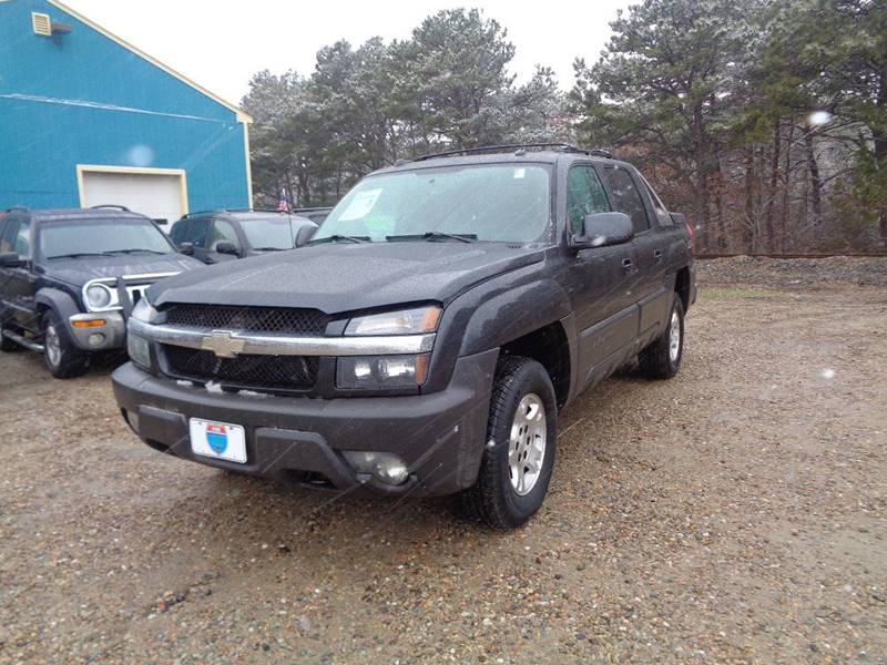 2005 chevrolet avalanche 4dr 1500 z71 4wd crew cab sb in hyannis ma mutual motors. Black Bedroom Furniture Sets. Home Design Ideas