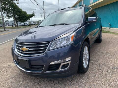 2014 Chevrolet Traverse for sale at Mutual Motors in Hyannis MA