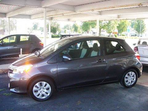 2013 Toyota Yaris for sale at G & W Car Sales in Richland Center WI