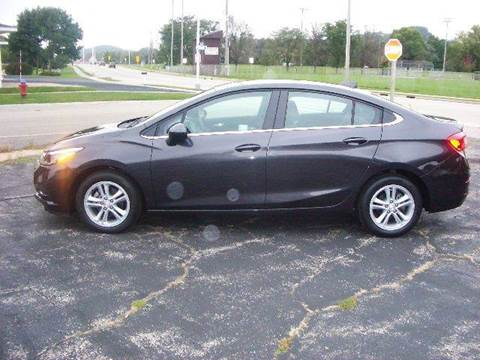 2016 Chevrolet Cruze for sale at G & W Car Sales in Richland Center WI