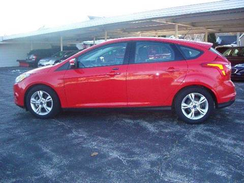 2014 Ford Focus for sale at G & W Car Sales in Richland Center WI