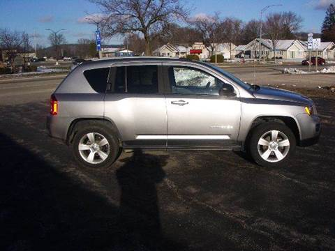 2016 Jeep Compass for sale at G & W Car Sales in Richland Center WI