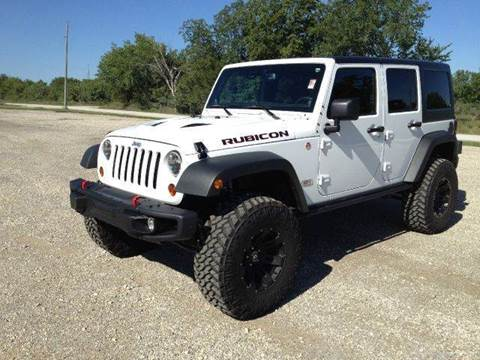 2013 Jeep Wrangler Unlimited for sale at Bailey Auto in Pomona KS