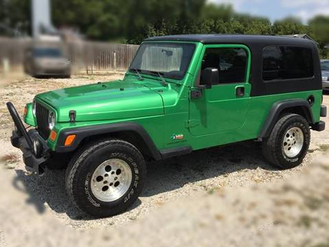 2004 Jeep Wrangler for sale at Bailey Auto in Pomona KS
