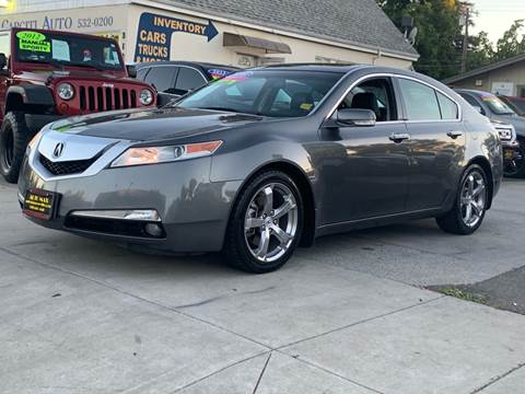 2010 Acura Tl 4dr Sedan W Technology Package And 18 In
