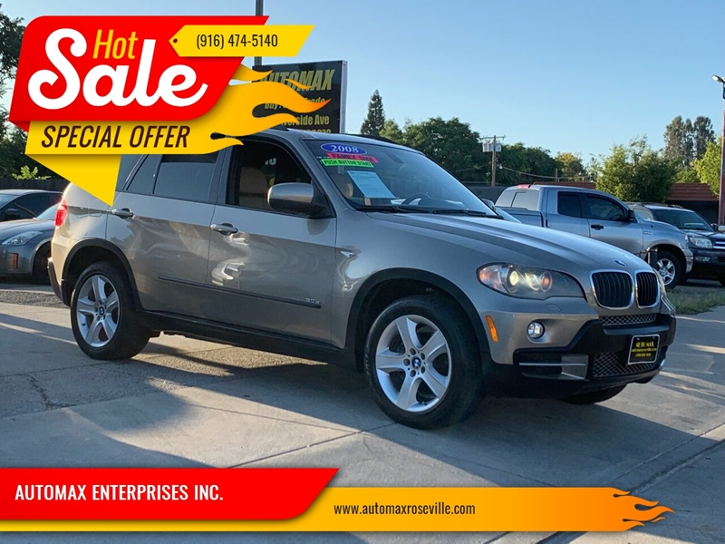 2008 Bmw X5 Awd 3 0si 4dr Suv In Roseville Ca Automax Enterprises Inc