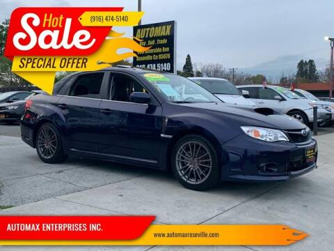 2012 Subaru Impreza for sale at AUTOMAX ENTERPRISES INC. in Roseville CA