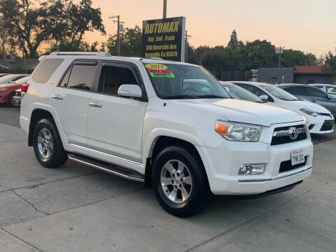2011 Toyota 4Runner for sale at AUTOMAX ENTERPRISES INC. in Roseville CA