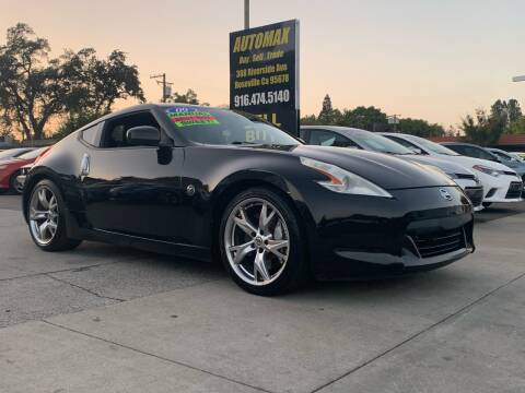 2009 Nissan 370Z for sale at AUTOMAX ENTERPRISES INC. in Roseville CA