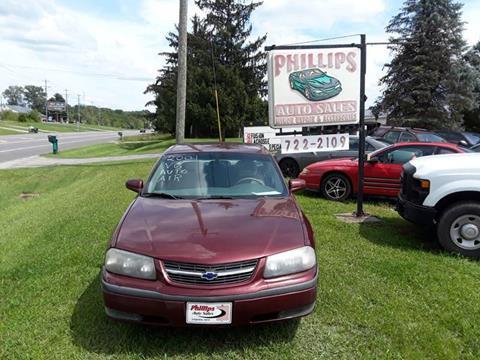 2001 Chevrolet Impala for sale in Loveland, OH
