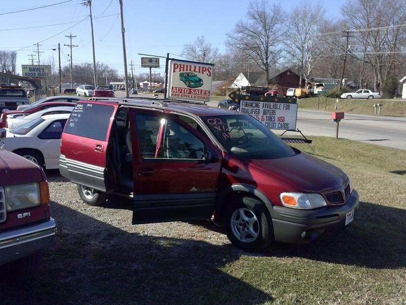 2002 Pontiac Montana Fwd 4dr Extended Mini-Van - Loveland OH
