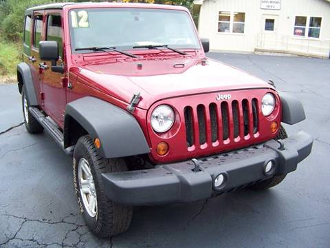 2012 Jeep Wrangler Unlimited for sale in Danville, PA