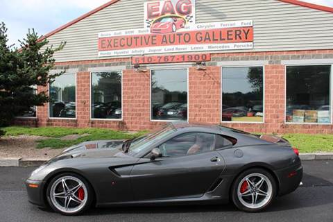 2007 Ferrari 599 for sale at EXECUTIVE AUTO GALLERY INC in Walnutport PA