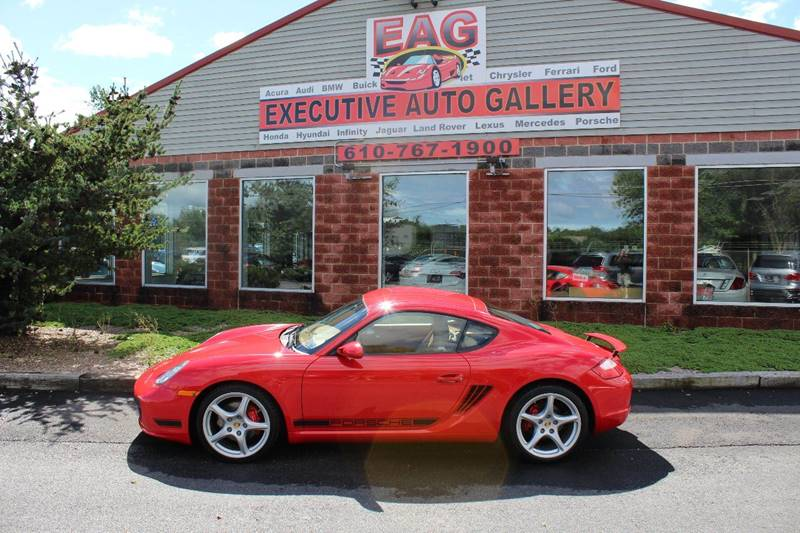2007 porsche cayman s 2dr coupe in walnutport pa - executive auto
