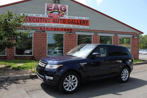 2017 Land Rover Range Rover Sport for sale in Walnutport, PA