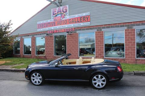 2007 Bentley Continental for sale in Walnutport, PA