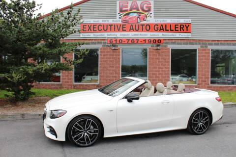 2019 Mercedes-Benz E-Class AMG E 53 for sale at EXECUTIVE AUTO GALLERY INC in Walnutport PA
