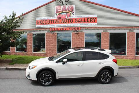 2016 Subaru Crosstrek 2.0i Limited for sale at EXECUTIVE AUTO GALLERY INC in Walnutport PA