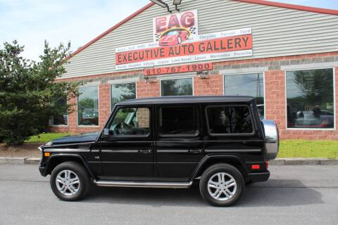 2014 Mercedes-Benz G-Class G 550 for sale at EXECUTIVE AUTO GALLERY INC in Walnutport PA
