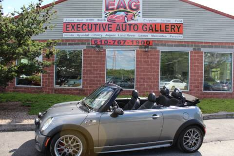 2006 MINI Cooper S for sale at EXECUTIVE AUTO GALLERY INC in Walnutport PA