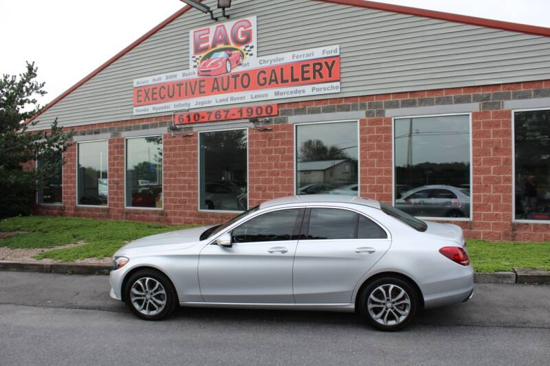2015 Mercedes-Benz C-Class for sale at EXECUTIVE AUTO GALLERY INC in Walnutport PA