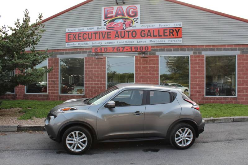 2017 Nissan JUKE for sale at EXECUTIVE AUTO GALLERY INC in Walnutport PA