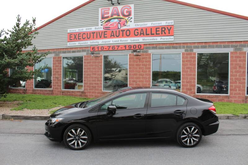 2015 Honda Civic for sale at EXECUTIVE AUTO GALLERY INC in Walnutport PA