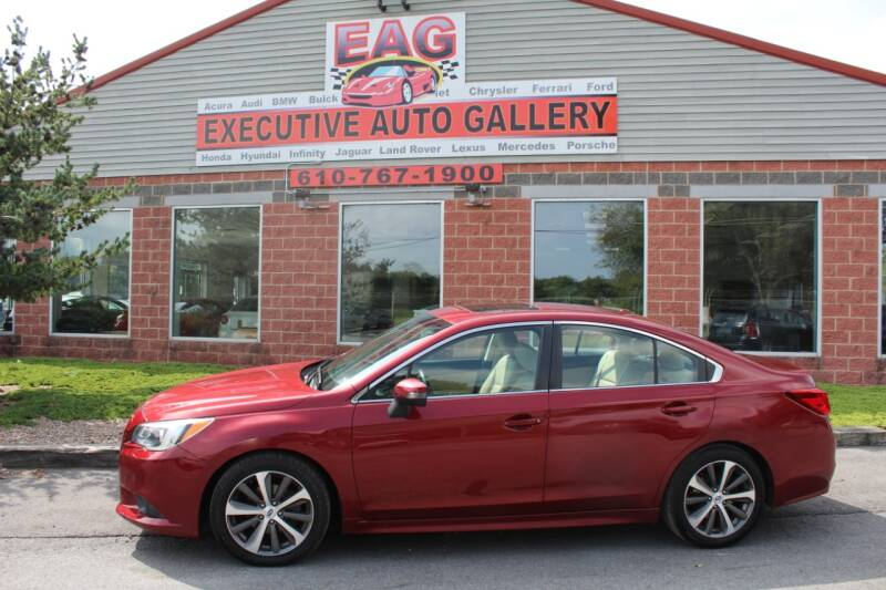 2015 Subaru Legacy for sale at EXECUTIVE AUTO GALLERY INC in Walnutport PA