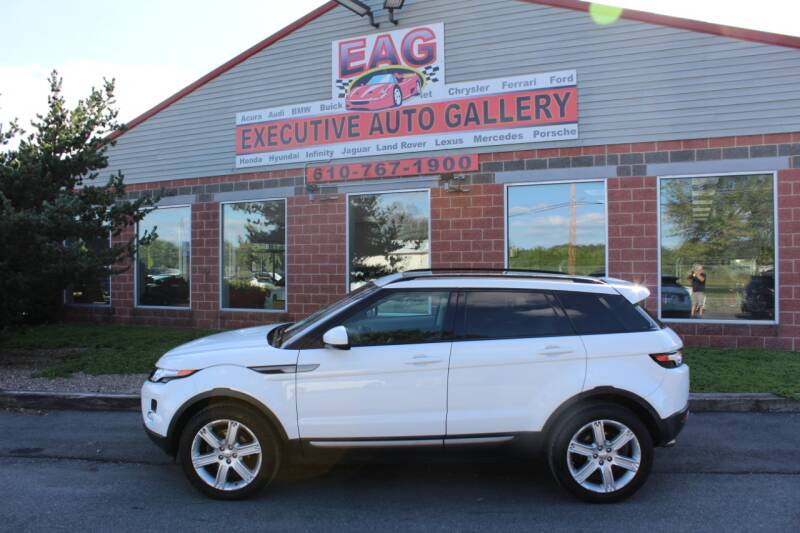 2015 Land Rover Range Rover Evoque for sale at EXECUTIVE AUTO GALLERY INC in Walnutport PA